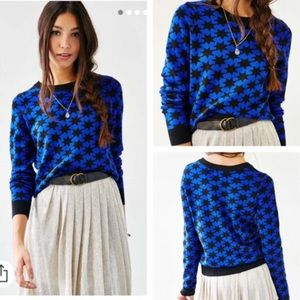 Alice & Urban Outfitters Blue Galaxy Sweater M